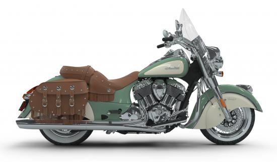 2018 Indian Chief Vintage Willow Green over Ivory Cream Right
