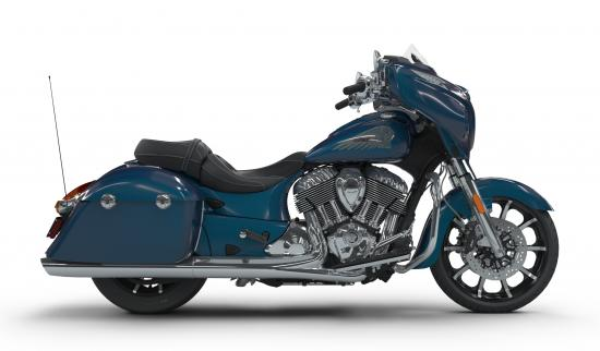 2018 Indian Chieftain Limited Brilliant Blue Right