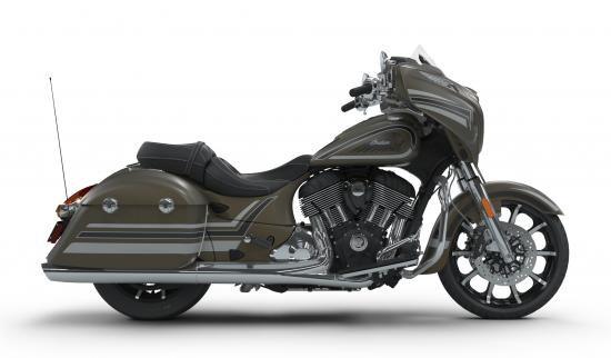 2018 Indian Chieftain Limited Bronze Smoke with Graphics Right