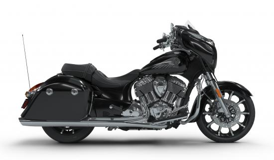 2018 Indian Chieftain Limited Thunder Black Pearl Right