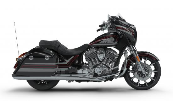 2018 Indian Chieftain Limited Thunder Black Pearl with Graphics Right