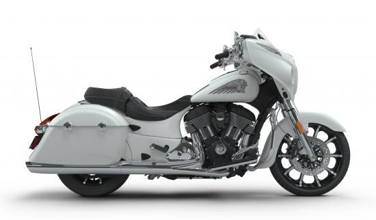 2018 Indian Chieftain Limited White Smoke Right