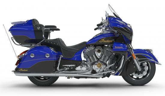2018 Indian Roadmaster Elite Cobalt Candy Right