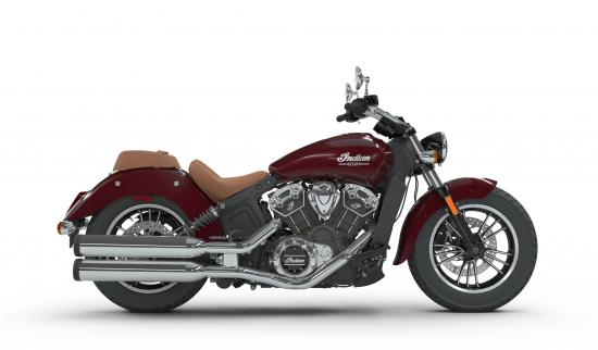 2018 Indian Scout Burgundy Metallic Right